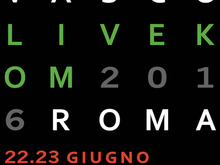 LIVE KOM'016 ROMA  Due date uniche e irripetibili 22-23 Giugno stadio OLIMPICO