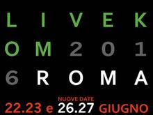 VASCO LIVE KOM '016 ROMA - Si aggiungono la Terza e ..la Quarta data!