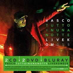 Tutto in una notte - Live Kom 2015 (Cofanetto 2CD + 2DVD + BLURAY)