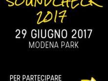 Istruzioni Soundcheck Modena Park 2017