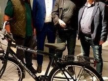 "Good newwssss.. ""Pensieri e pedali""  il Premio 2019 a Vasco"