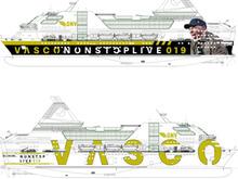 VASCONONSTOP LIVE 2019 - LA NAVE SPECIALE DI VASCO ARRIVA IN SARDEGNA