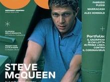 Esce oggi 7 aprile il mensile GQ con l'Editoriale di Vasco Rossi su Steve Mc Queen