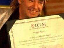 15 anni fa.. la laurea honoris causa in Scienze della comunicazione