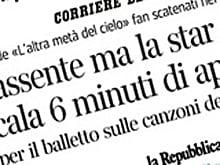 Vasco alla Scala: 6 minuti di applausi