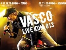 Vasco quadruplica a Torino