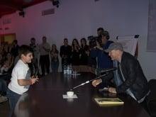 """E il piccolo Francesco incontrò """"L'Uomo più semplice"""""""
