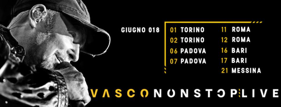 b76616b6df VASCONONSTOP LIVE 2018. MI RACCOMANDO